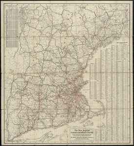 The New England commercial and route survey