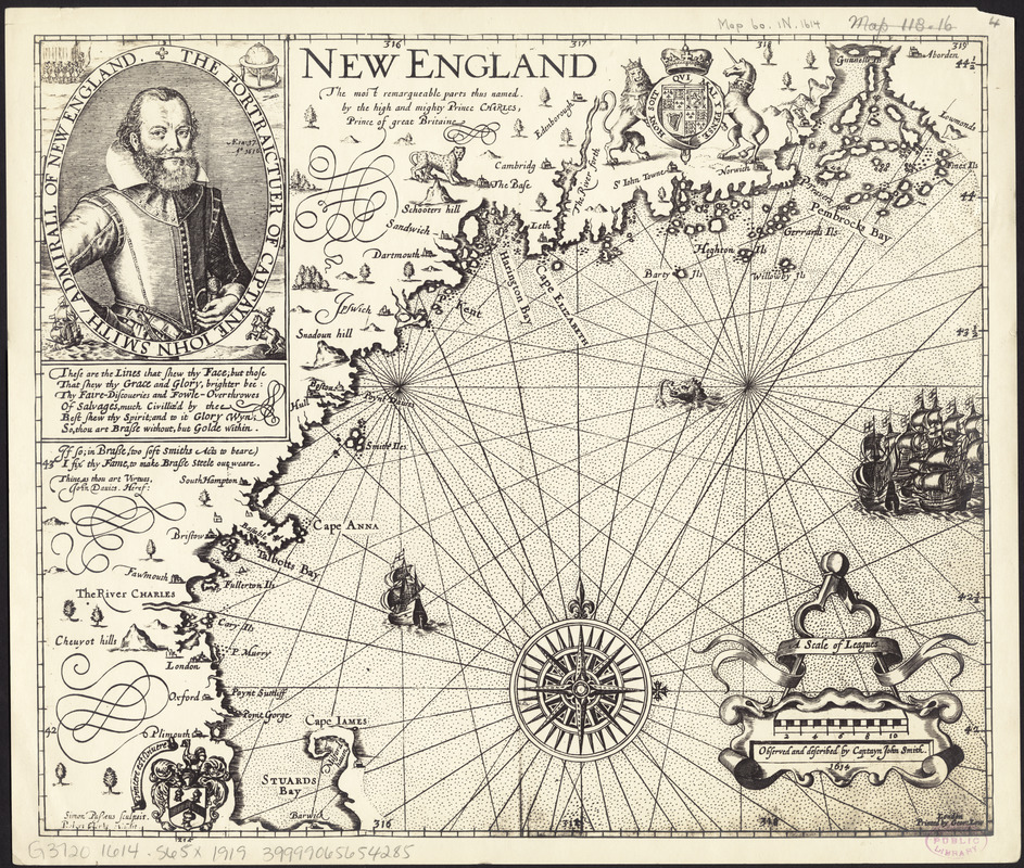 Maps of New England
