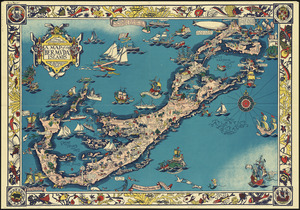 A map of the Bermuda Islands