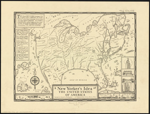 A New Yorker's idea of the United States of America