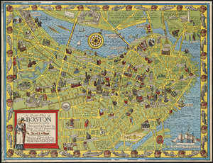 A Scott-Map of Boston, Massachusetts