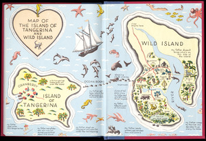 Map of the island of Tangerina and Wild Island