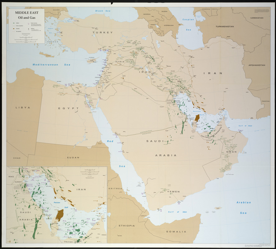 Middle East, oil and gas