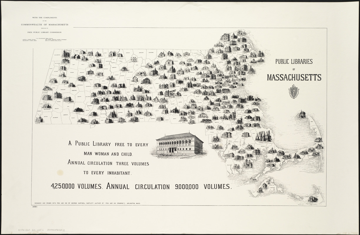 The public libraries of Massachusetts