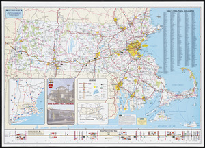Massachusetts Turnpike map