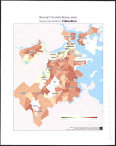 Boston's diversity index, 2010 : measures of diversity
