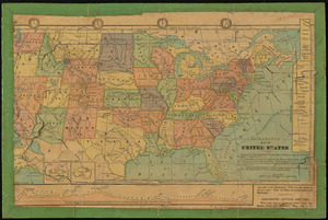 Tackabury's map of United States