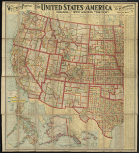 Western part of the United States of America including all its newly acquired territory
