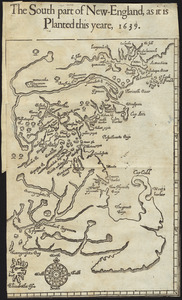 The south part of New England, as it planted this yeare, 1639