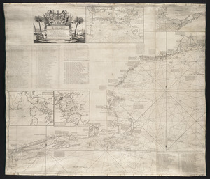 An actual survey of the sea coast from New York to the I. Cape Brition