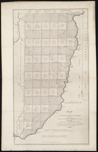 Plat of the seven ranges of townships being part of the territory of the United States n.w. of the Ohio River which by a late act of Congress are directed to be sold