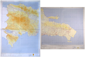Dominican Republic road map 1:250,000