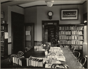 Allston Branch. Adults' reading room