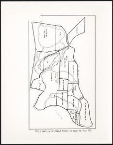 Arnold Arboretum maps from Raup article