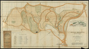 Arnold Arboretum Maps and Plans