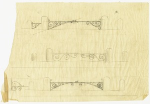 Pencil drawings for gate