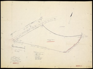Compiled plan of land in West Roxbury-Mass (Arnold Arboretum)
