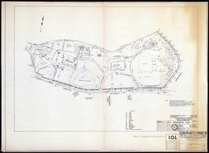 Topographic Plan. Bussey Institution Property. Existing site conditions