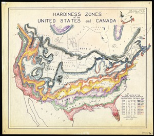Hardiness zones of the United States and Canada