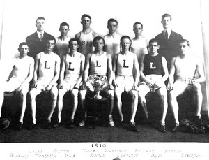 1910 Lawrence High School track team