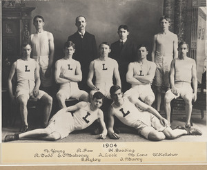 1904 Lawrence High School sports team