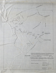 A plan of the town of Andover