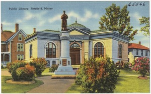 Public Library, Pittsfield, Maine