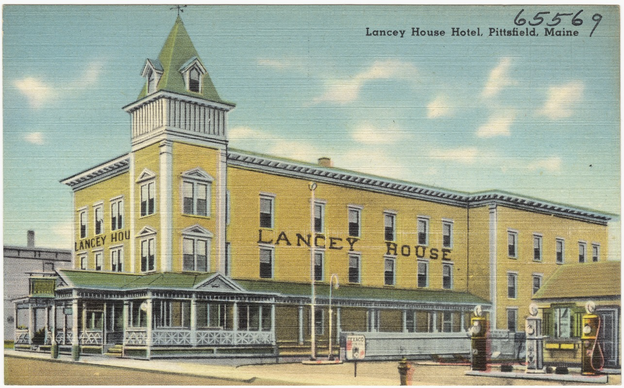 Lancey House Hotel Pittsfield Maine