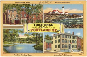 Greetings from Portland, Me.