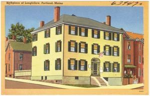 Birthplace of Longfellow, Portland, Maine