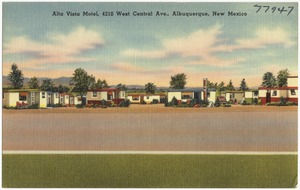 Alta Vista Motel, 4210 West Central Ave., Albuquerque, New Mexico