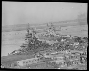 Navy ships at the South Boston Naval Annex