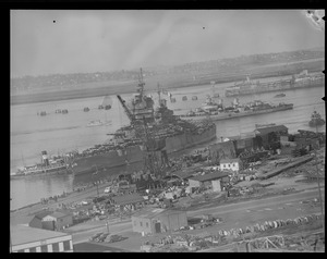 Navy ships at S. Boston Naval Annex