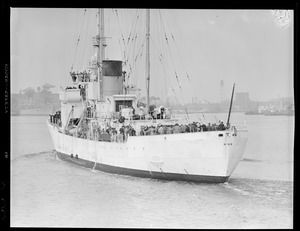 Coast Guard ship USS Bibb, Boston Harbor