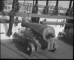 Cannons of the USS Constitution