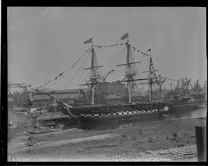 USS Constitution in Navy Yard