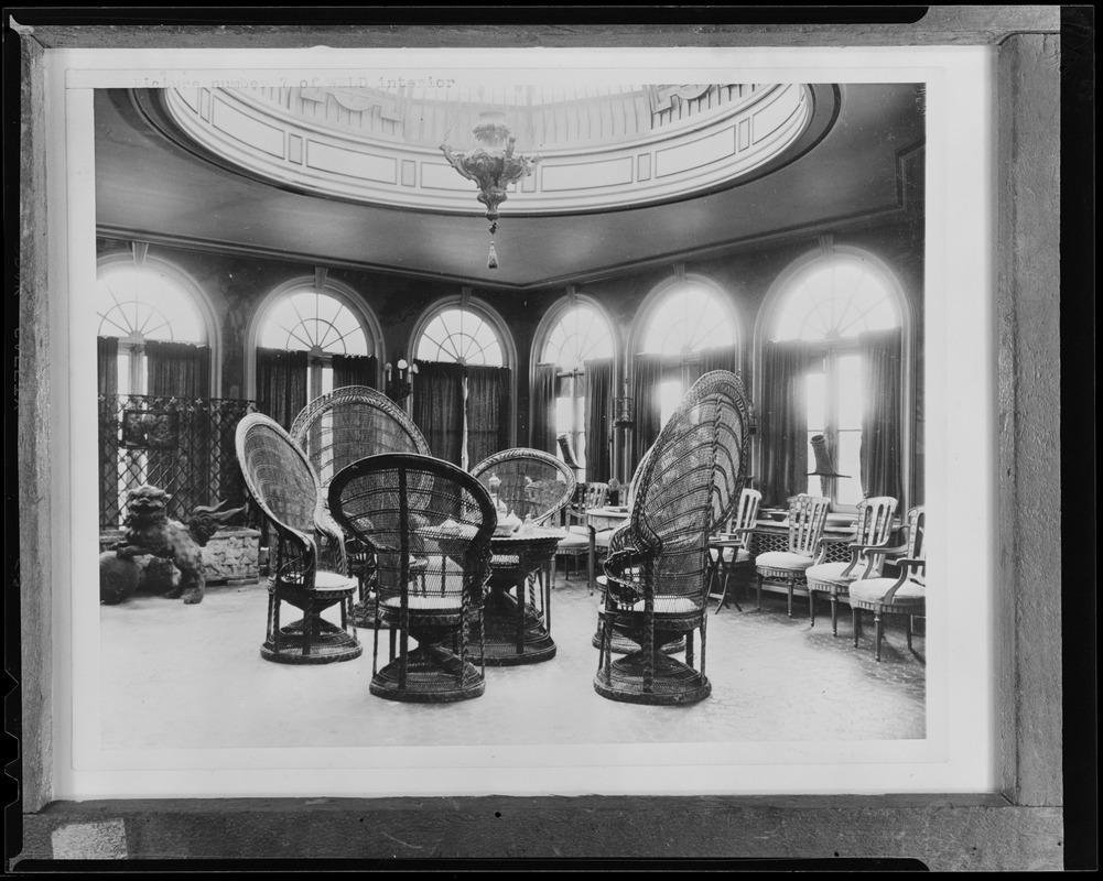 Interior, Larz Anderson Estate, Brookline