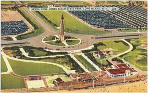 Aerial view, Jones Beach State Park, Long Island, N. Y.