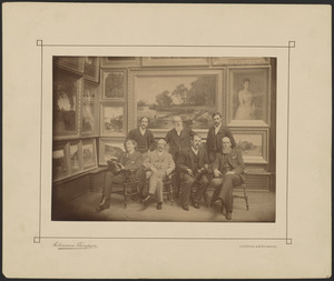 J. M. H. Whistler and other members of jury