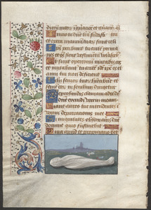 Single leaf from a 15th-century book of hours
