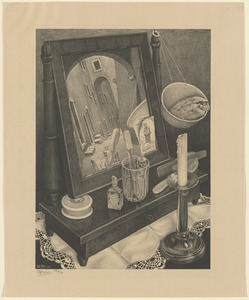 Still life with mirror