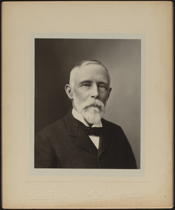 Portrait photograph of Philip A. Chase (1834-1903), Mass., ca. 1892