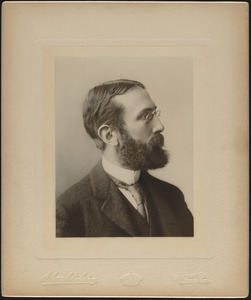 Massachusetts Metropolitan Park Commission, Founders and Commissioners, Photographic Portraits, ca. 1892 to ca. 1907