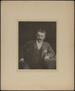 Portrait photograph of William L. Chase (1853-1895), Mass., ca. 1894
