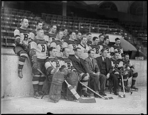 1934-1935 Bruins team