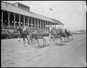 Harness racing in Brockton