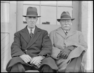 Bert Haines, Harvard, and Bill Haines, M.I.T., crew coaches of fame
