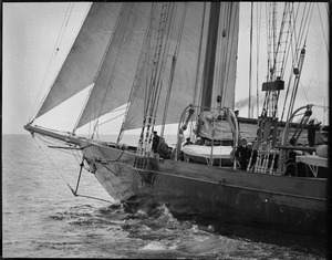 Lambert's Atlantic under sail