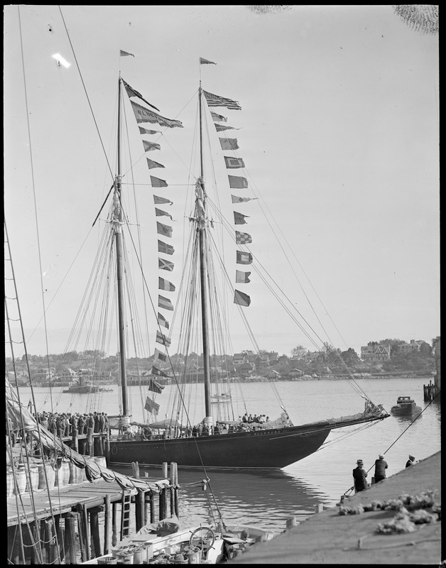 The Bluenose at Gloucester