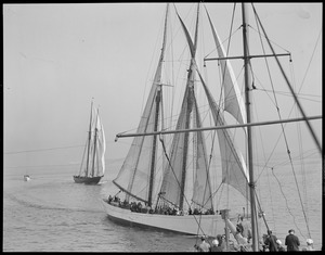 Fishing schooners: Gloucester, Mass. Elizabeth Howard